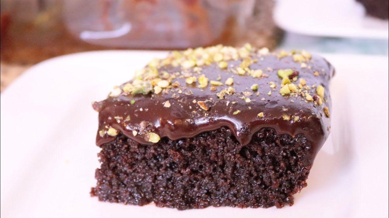 بسبوسة الشوكولاته مع صوص الشوكولاته وصفة سهلة وسريعة وبمكونات متوفرة Desserts Food Brownie