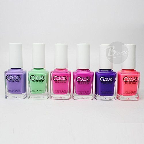 Club Poptastic Pastel Neon Collection Lacquer Set of 6 Color AN20 - AN25 -- Be sure to check out this awesome product.