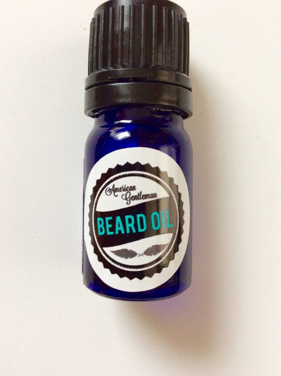 Sandalwood Beard Oil  5 ml. by AmericanGentlemanMA on Etsy