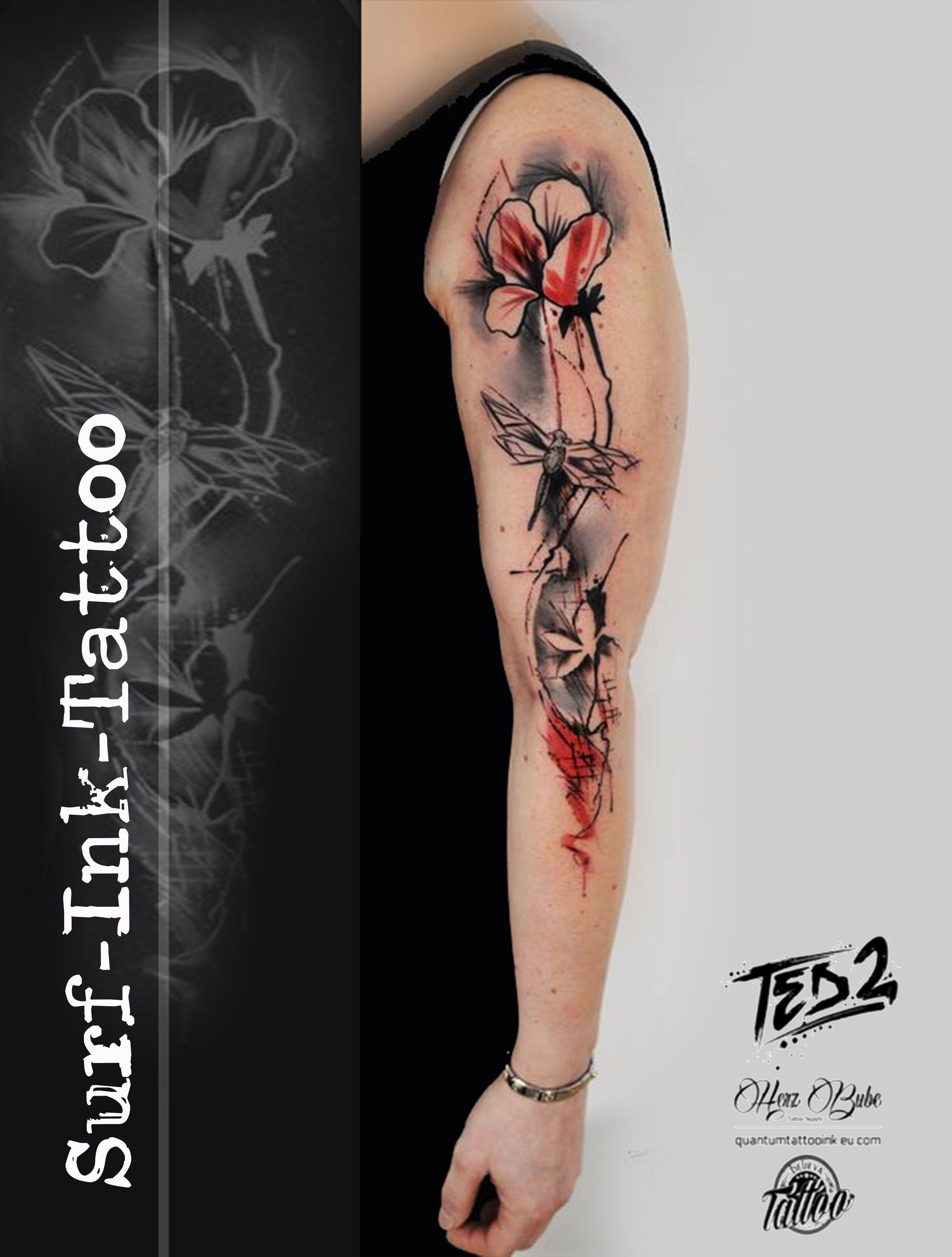 Ted2 Trash Polka Style Trash Polka Tattoo Vorlagen Trash Polka Tattoo Trash Polka