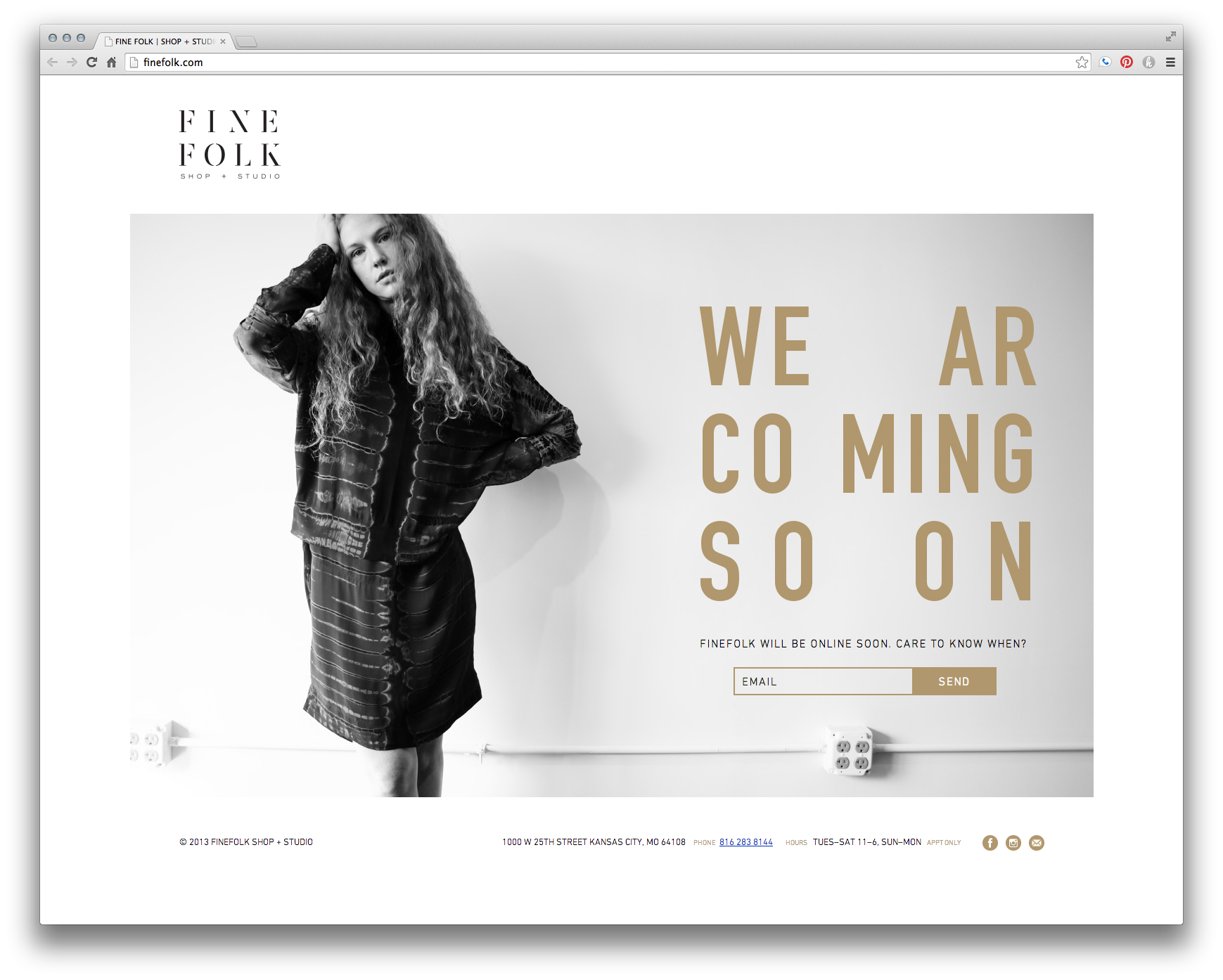 A Clean And Minimalist Web Design And Website Layout Perfect For A Lookbook Or Fashion Minimalist Web Design Website Design Inspiration Fashion Website Design