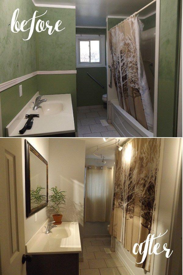 Welcome to Barefoot and Elegant! Bathroom Remodel Stage 1: paint primer lighting venetian veneer plaster