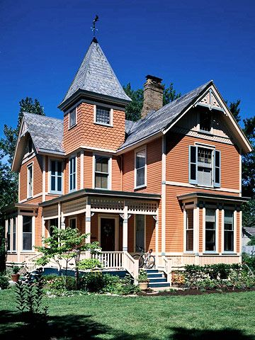 Victorian Style Although There Are Many 19th Century Victorian Architectural Styles The One That Usually Comes To Mind Is Q Victorian Homes Architecture House