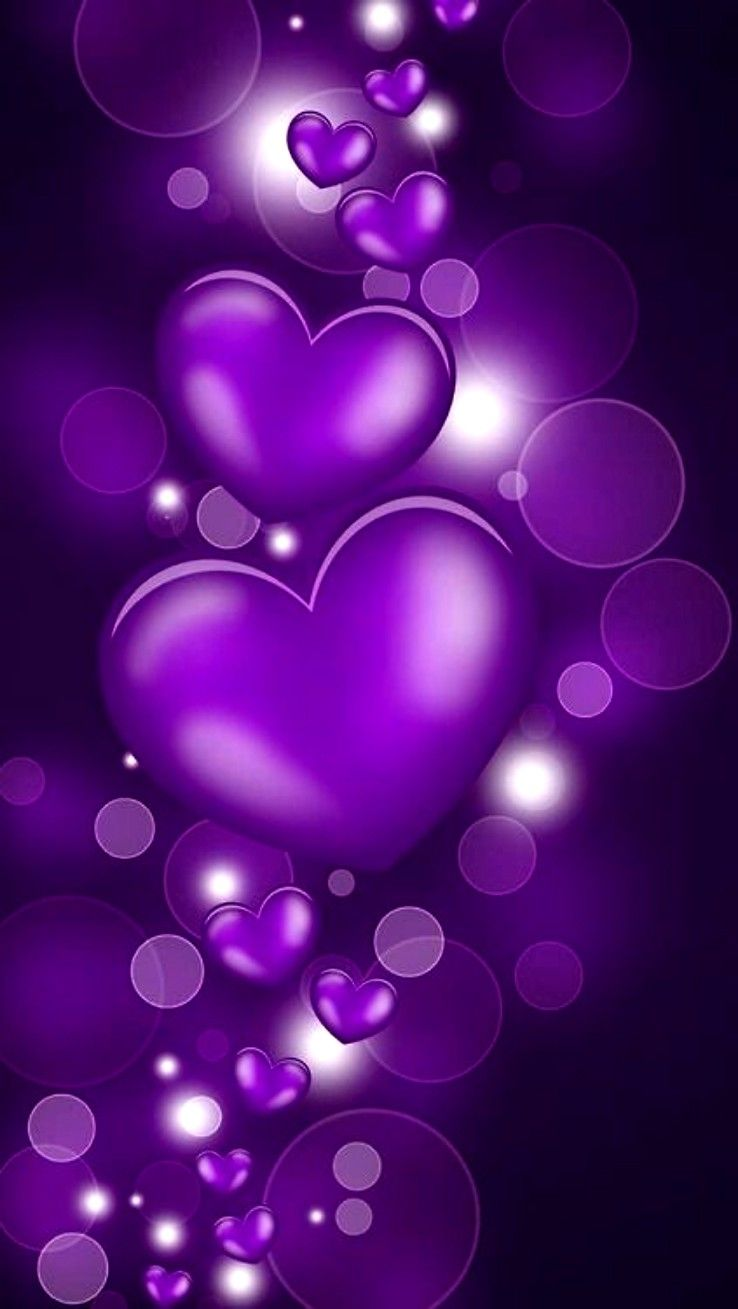 Hi Baby I Love You How Are You Doing On This Fine Friday I Hope You Are Doing Well I Ve Been Thinking Heart Wallpaper Valentines Wallpaper Purple Wallpaper