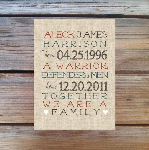 ADOPTION & GOTCHA DAY Print Personalized and by PoppyseedPrints ...