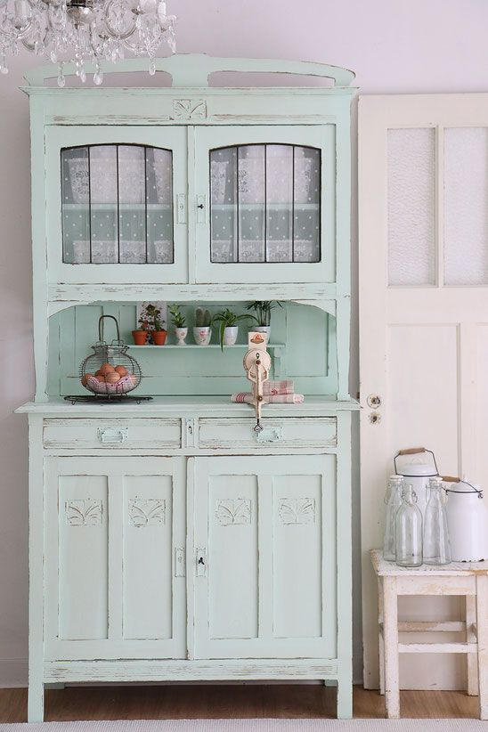 shabby chic schrank antiker k chenschrank buffet wohnideen pinterest schrank buffet und. Black Bedroom Furniture Sets. Home Design Ideas
