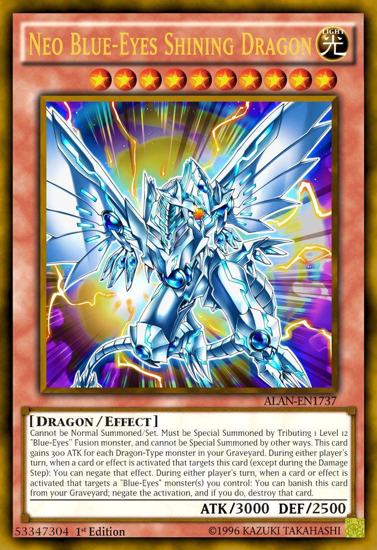 Neo blueeyes shining dragon by alanmac95 on deviantart