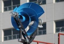 Archimedes 'Liam F1 Urban Wind Turbine': Quiet and more efficient.