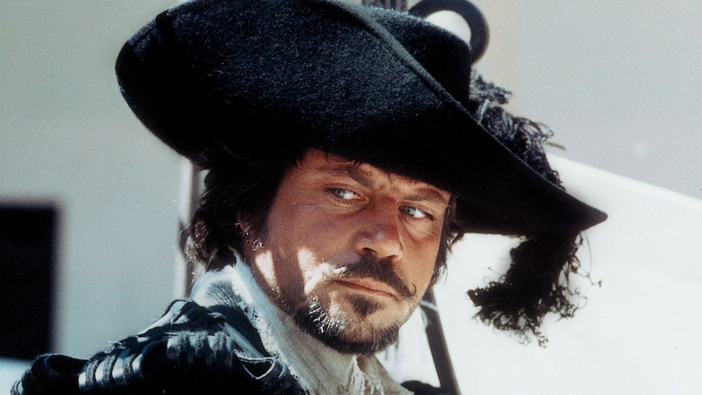 Image result for oliver reed in the three musketeers