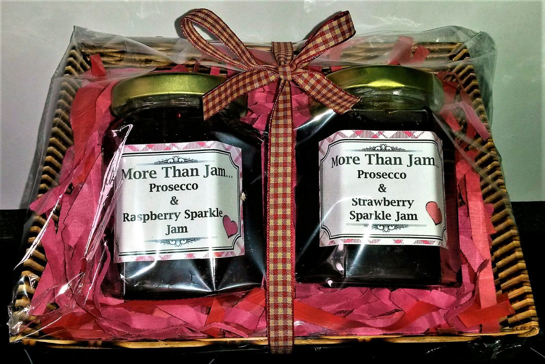 Homemade jam food hamper prosecco jam food gift edible gift