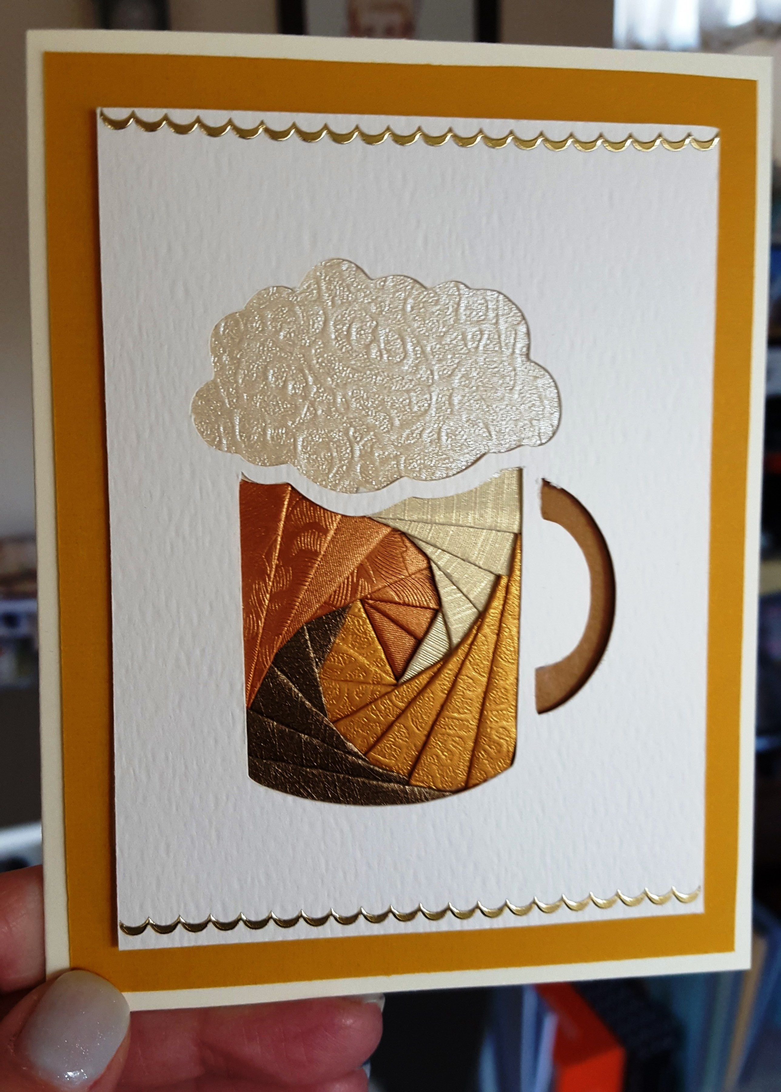 Iris+Folding+Card - Scrapbook.com | Projects to Try | Pinterest ...