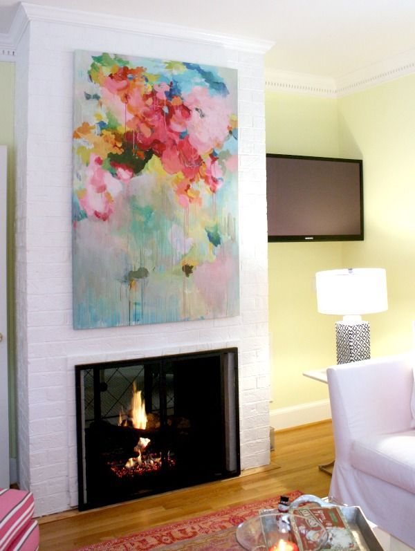 Our Favorite Rooms Of The Year Abstract Abstract Art Decor