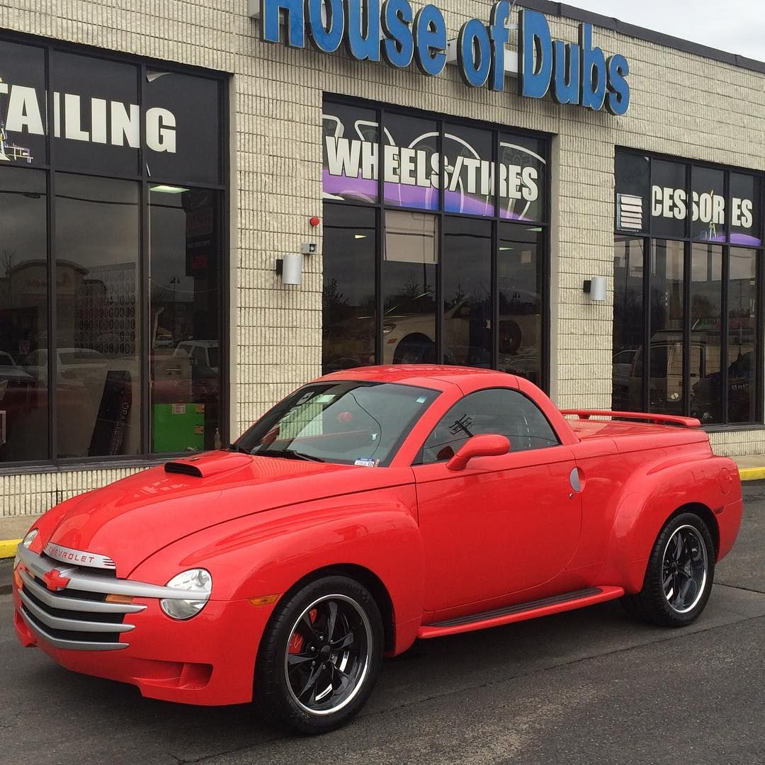 Chevy Ssr With Custom Built Foose Official Wheels 19 Front 20