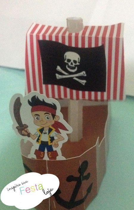 Navio Jake Os Piratas