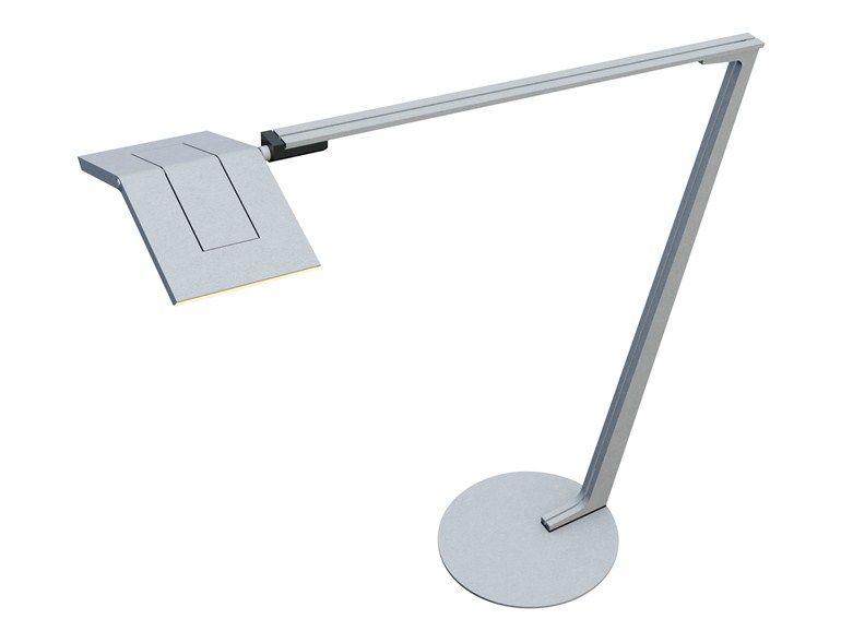 LED adjustable aluminium table lamp Light Book Collection by OLIGO Lichttechnik | design Ottenwälder und Ottenwälder