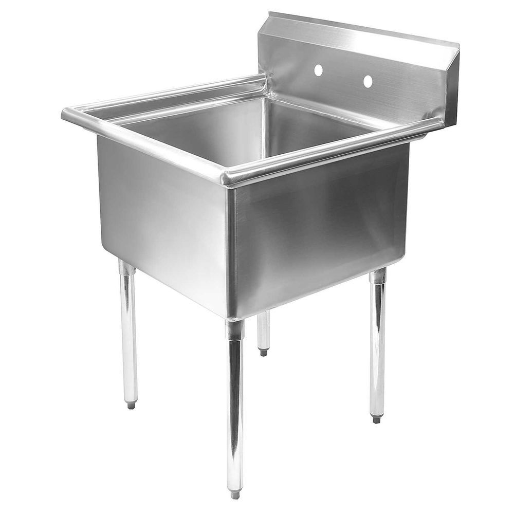 Stainless Steel Commercial Kitchen Utility Sink - 30\