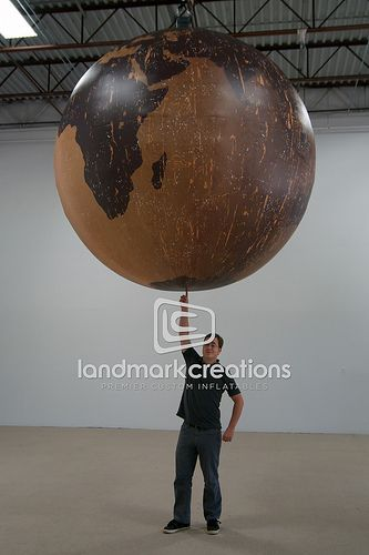 Giant inflatable world map globe globe globe art and map globe giant globe of earth recent photos the commons 20under20 galleries world map app garden gumiabroncs Gallery