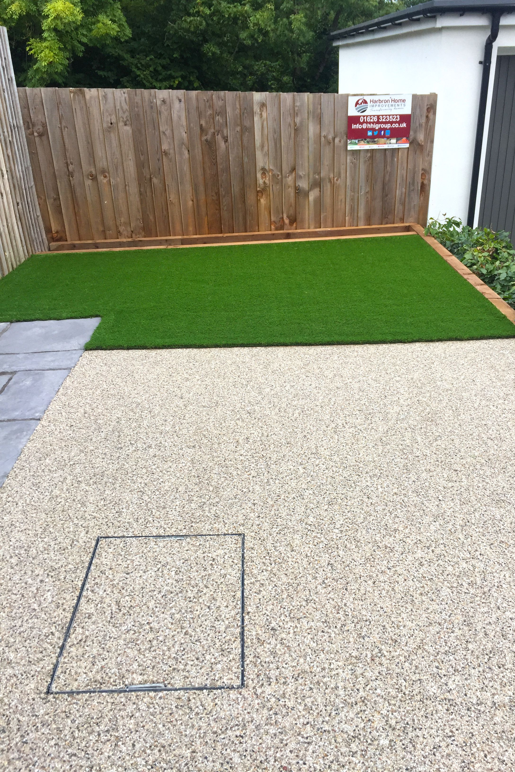 Bon Resin And Artificial Grass   The Perfect Mix For A Back Garden