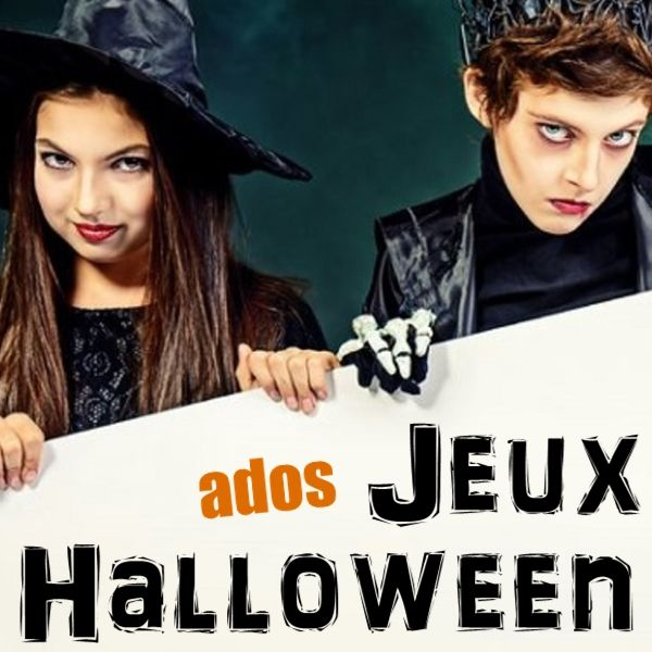Beliebt 8 jeux sur le thème de Halloween pour les ados et les pré-ados  OI33