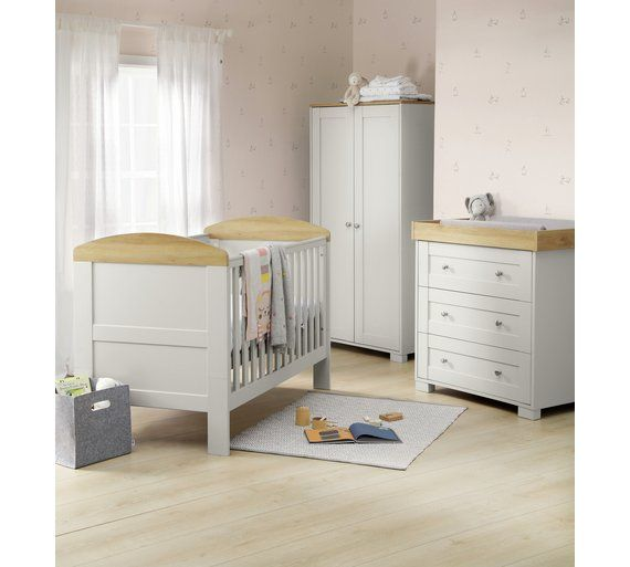 purchase cheap 66c3c 11a1b Buy Mamas & Papas Harrow 3 Piece Furniture Set - Grey at ...