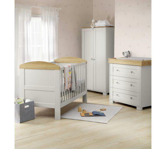 Mamas Papas Harrow 3 Piece Furniture Set Grey At Argos Co