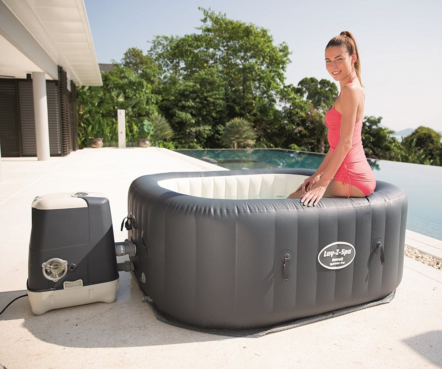 Best Portable Hot Tubs 2020 1001 Gardens Portable Hot Tub Inflatable Hot Tubs Hot Tub Reviews