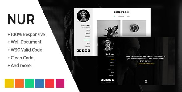 Download nur personal resumecvportfolio html template nulled download nur personal resumecvportfolio html template nulled latest version yelopaper Gallery