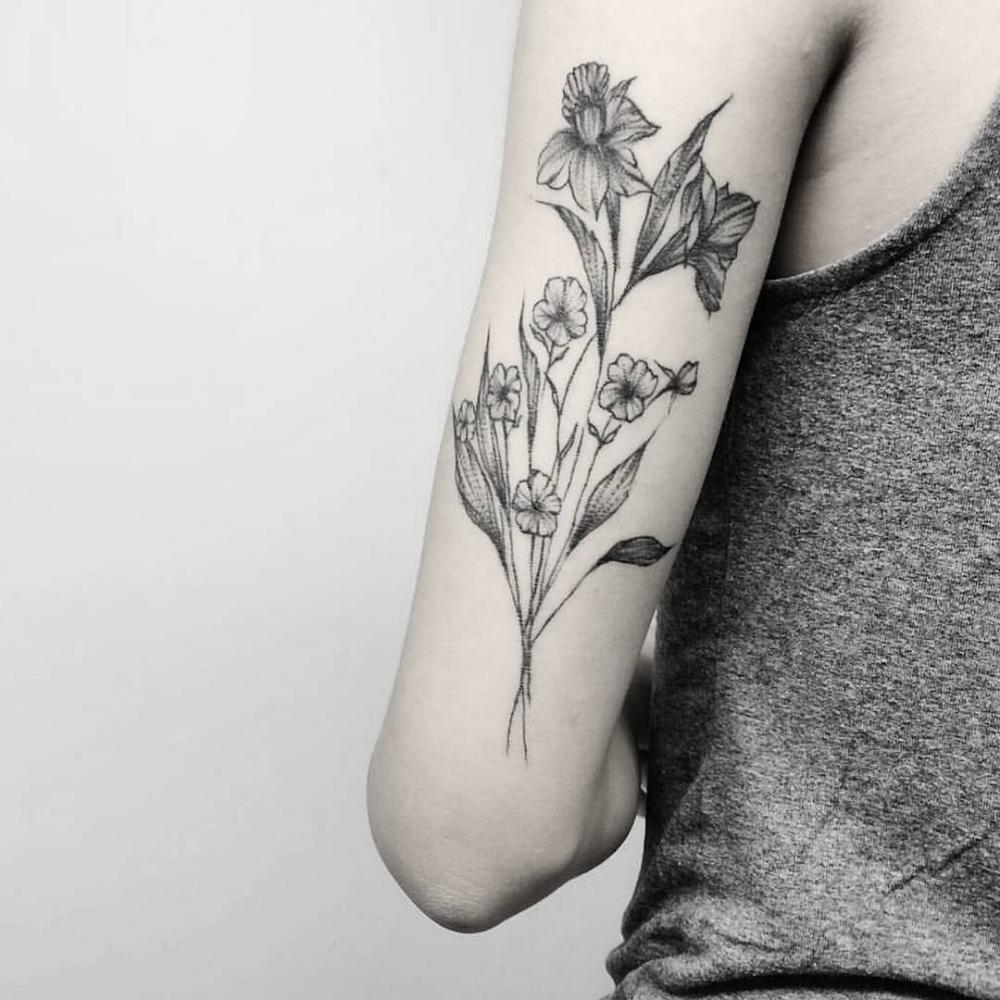 2019 Flower Arm Tattoos for women Tattoos Arm tattoos