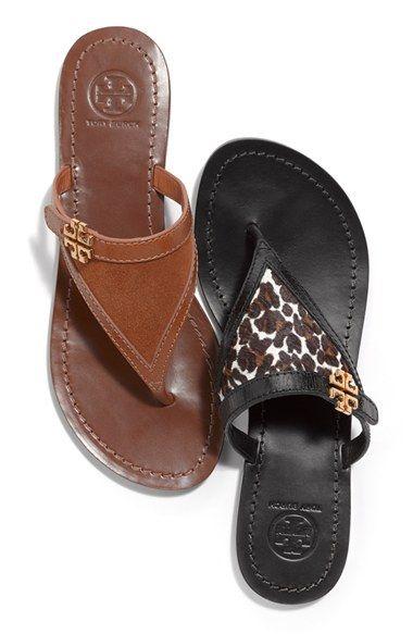 afbe95c8b Tory Burch  Eloise  Flat Thong Sandal (Nordstrom Exclusive) (Women) Cute