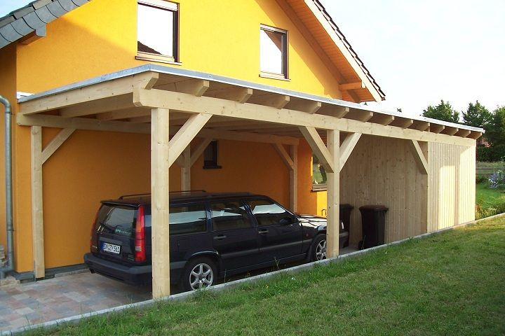 Flachdach carport carport flachdach bausatz und