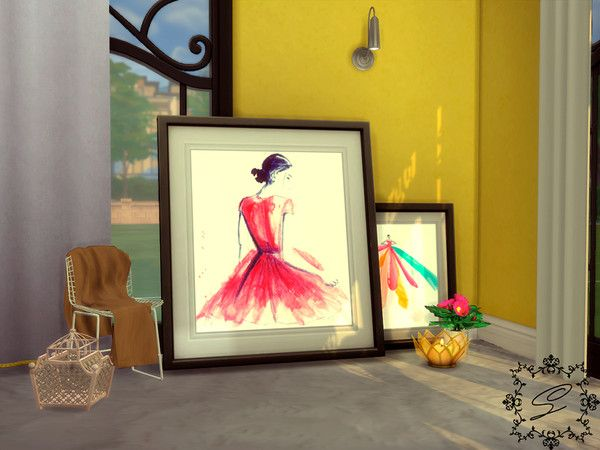 Painting collection 1 (Base game compatible)   The Sims 4