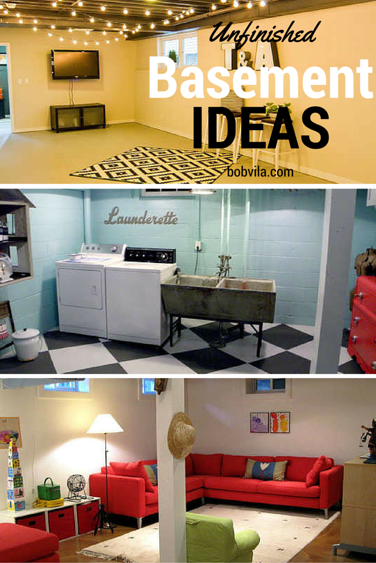 finishing touches for your unfinished basement basements