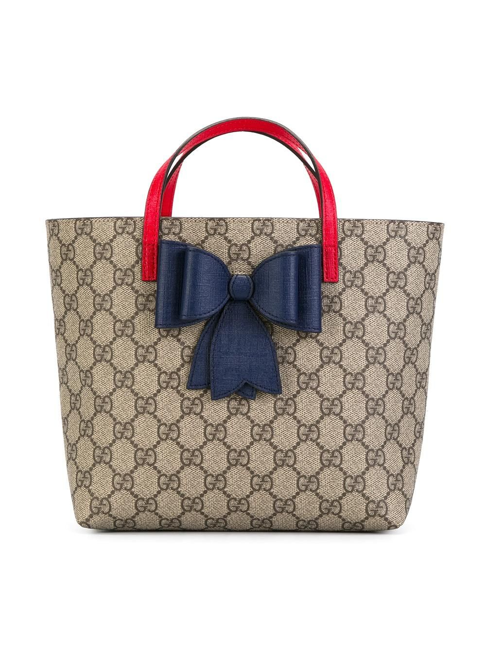 08ab93e7874 gucci  kids  gg  tote  bag  bow  blue  red  detail  style www.jofre ...