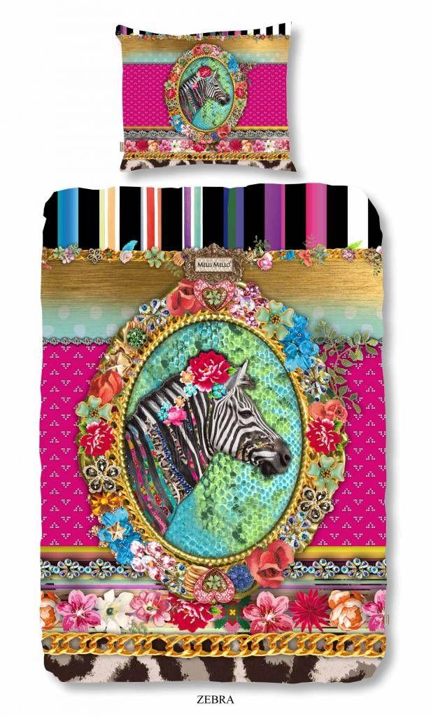 Melli Mello Dekbedovertrek Zebra | Slaapkamer | Pinterest