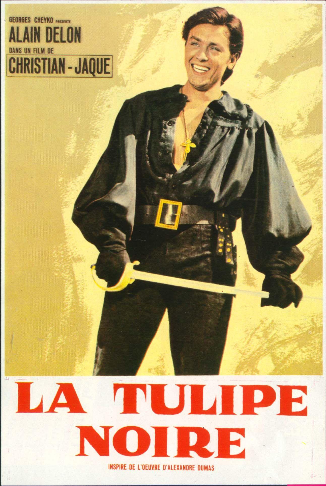 La Tulipe Noire Christian Jaque 1964 Tulipe Noire Alain