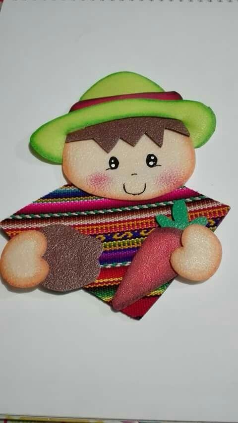 Poema Por El Dia Del Campesino Para Niños De Inicial Dia Del Campesino Dia Del Campesino Manualidades Dia Del Nino