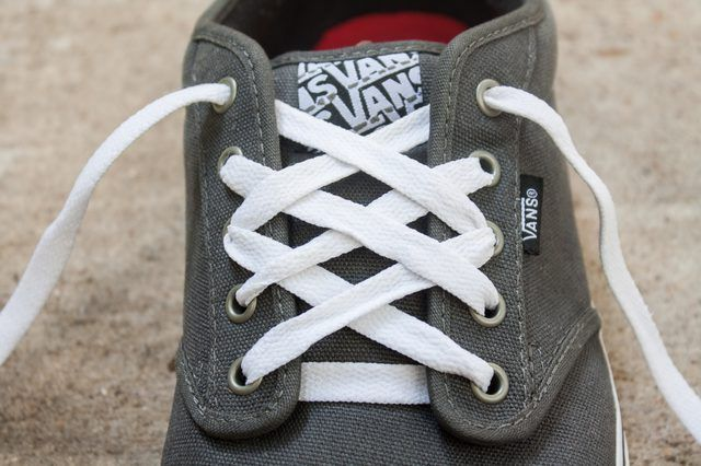 Shoe lace patterns
