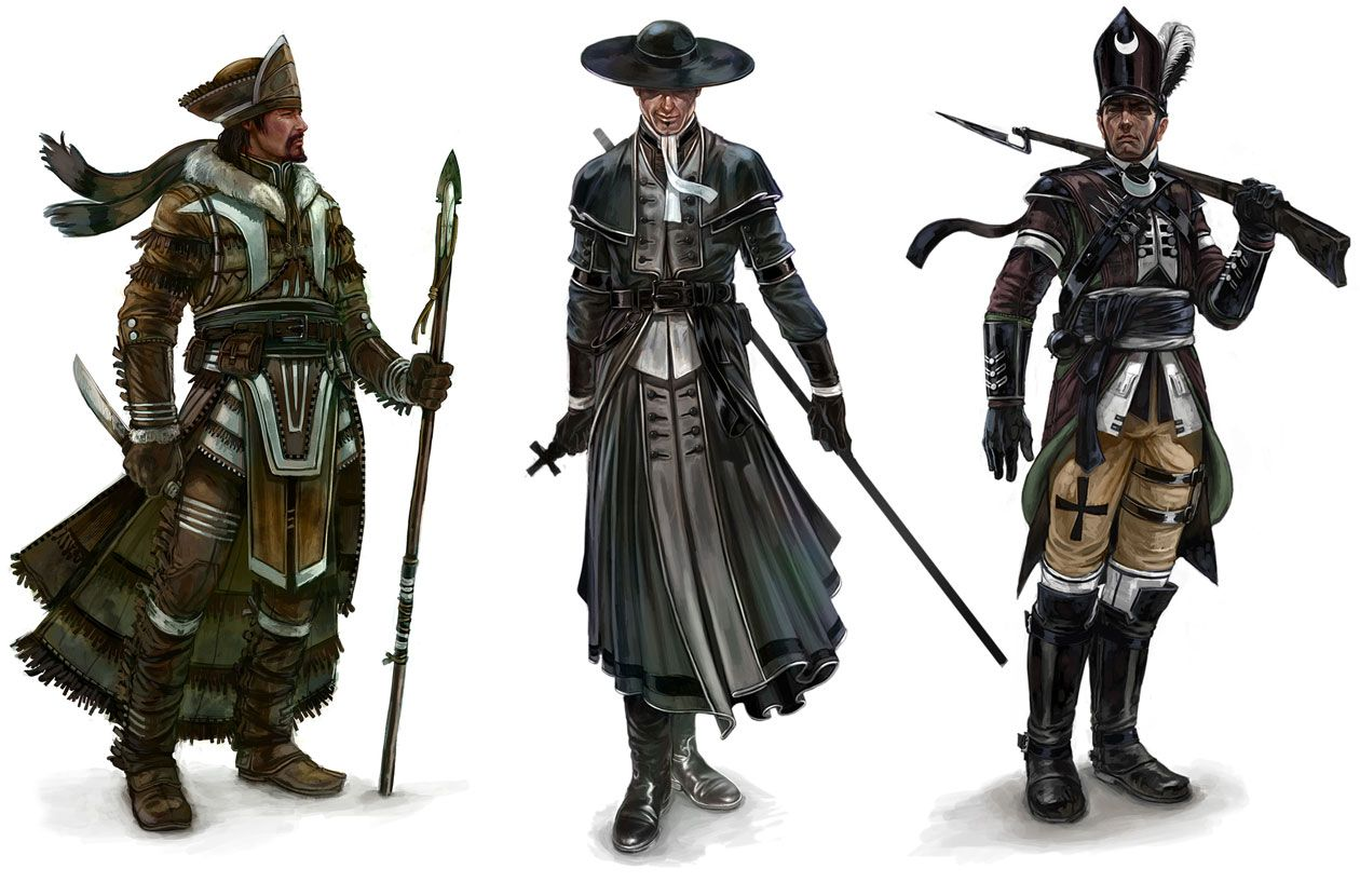 Character Designs | Assassin's Creed III Art & Pictures ...