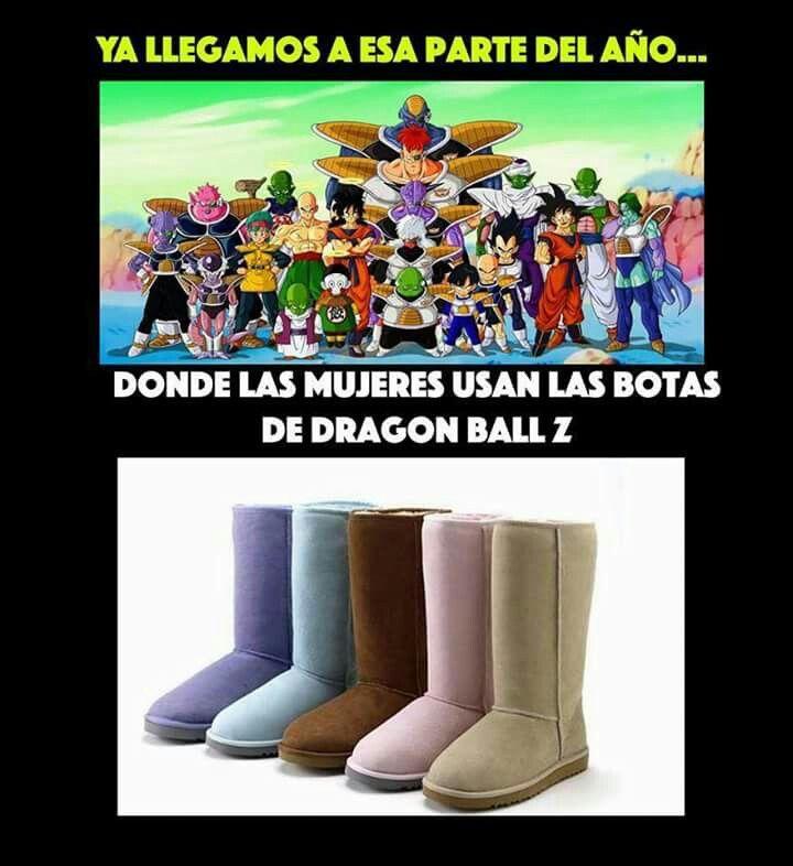 Dragonball Z Botas Moda Invierno Memes Chistosisimos Memes Dragones