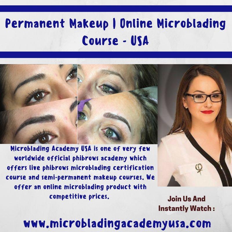 Permanent Makeup Makeup course, Permanent makeup, Semi
