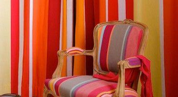 fauteuil toile de mayenne a rayure - Recherche Google