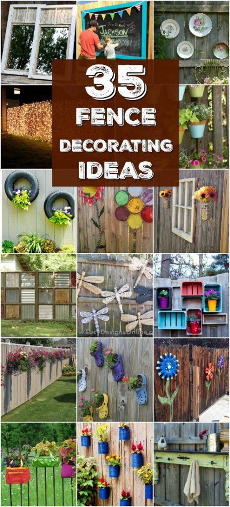 30 Eye-Popping Fence Decorating Ideas That Will Instantly Dress Up Your Lawn -   18 christmas decor outdoor fence ideas