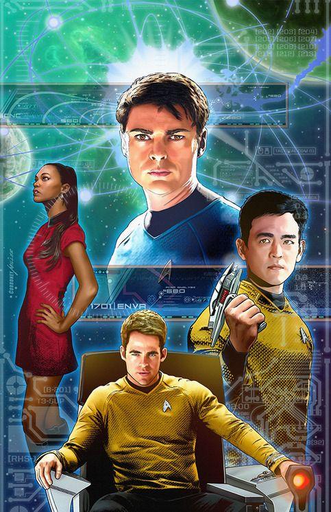 Star Trek Ongoing #44 Artist Print from Joe Corroney Art Store
