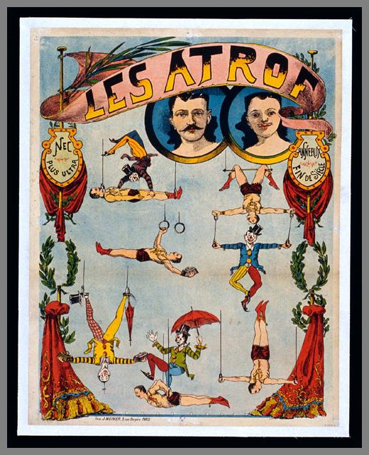 Affiche poster cirque cabaret 08 27 vieilles affiches de cirques et cabarets tattoo for Poster et affiche