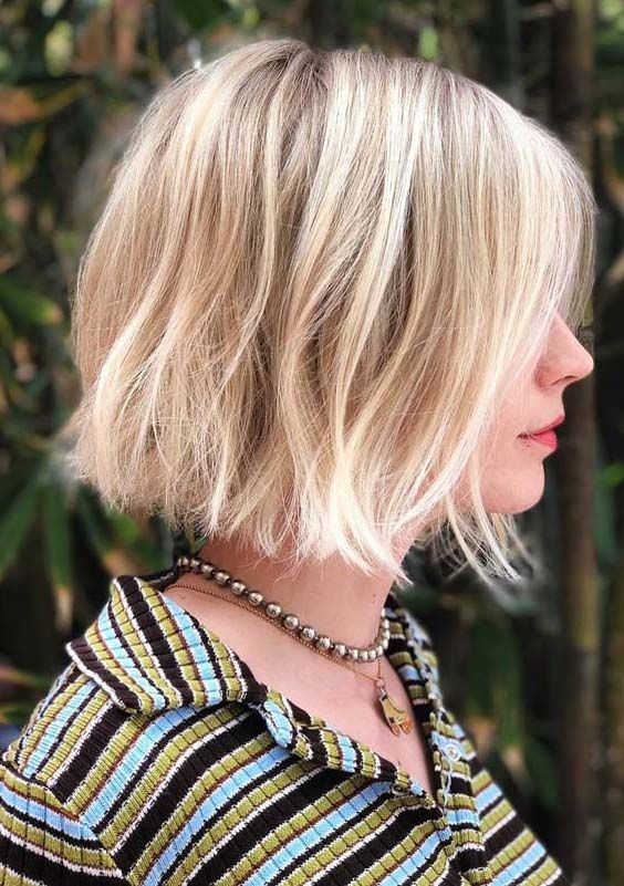 Gorgeous Blonde Bob Haircuts And Hairstyles For 2018 Bob