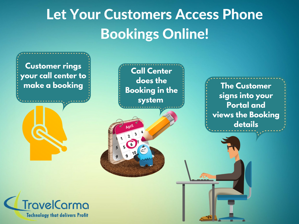 Call Center Module Travelcarma Is The Only Online Travel Solution Which Enables You To Make A Booking For Your Travel Technology Travel Solutions Call Center