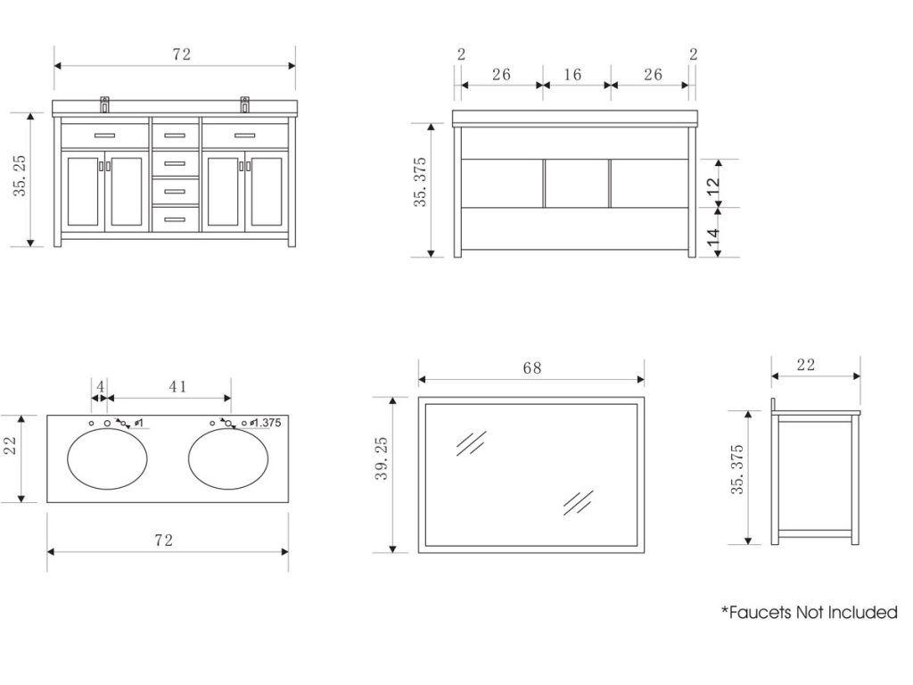 Standard Kitchen Sink Dimensions Kitchen Pantry Storage Ideas