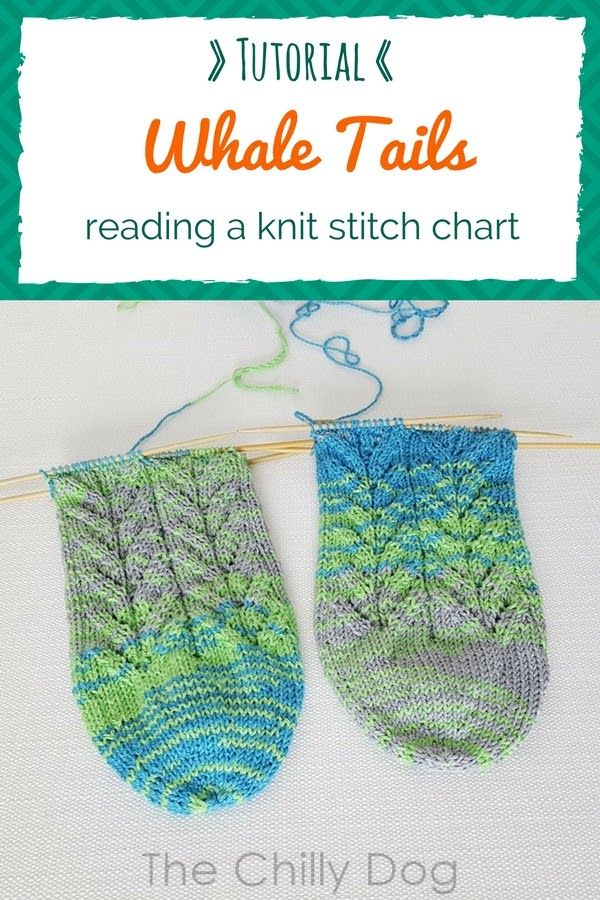 Whale Done Socks Kal Reading A Stitch Chart Knitting Stitches