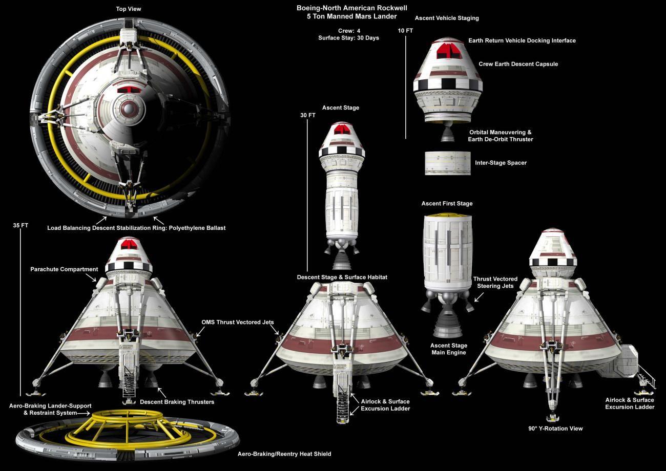 mars landing spacecraft - photo #29