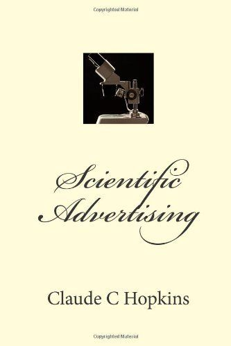Scientific Advertising by Claude C Hopkins (English) Paperback Book